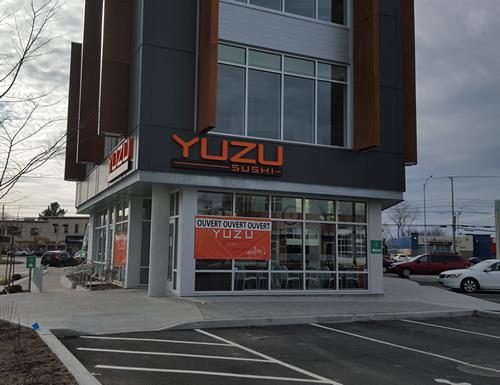 Restaurant yuzu sushi terrebonne sushi restaurant for Club piscine terrebonne chemin gascon